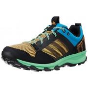 adidas Men's Kanadia 7 Tr M Dark Blue, White and Black Mesh Running Shoes - 9 UK