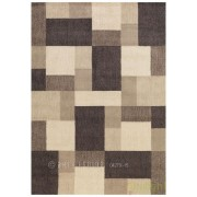 Covor modern cu forme geometrice in relief, Cool 120 x 180cm REFLECTIVE 646-90 AE