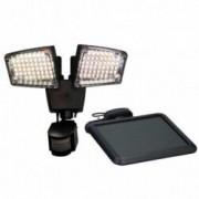 OUTIROR Projecteur 100 LED à énergie solaire et détecteur de mouvements