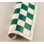 Tablă de șah din vinilin verde (43cm)