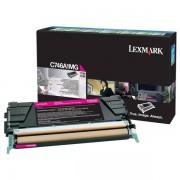 Lexmark Originale C 746 DTN Toner (C746A1MG) magenta, 7,000 pagine, 2.77 cent per pagina - sostituito Toner C746A1MG per C 746DTN