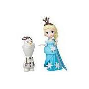 Boneca Frozen Mini Boneca e Amigo Elsa e Olaf - Hasbro