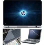Finearts Laptop Skin 15.6 Inch With Key Guard & Screen Protector - Hp Rays