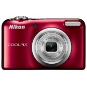 Nikon Aparat Coolpix A10 Czerwony + Pokrowiec