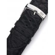 Curea de ceas Morellato A01U3932A68019CR18 schwarzes Alligator Uhren18mm