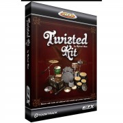 Toontrack - EZX Twisted Kit Sounds für EZ Drummer DVD