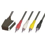4RCA-SCART kábel V57M