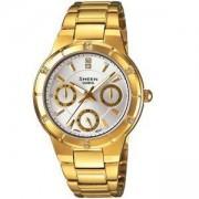 Дамски часовник CASIO SHEEN SWAROVSKI EDITION SHE-3800GD-7AEF