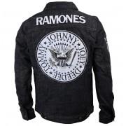 Männer Jacke Ramones - Seal - Denim - BRAVADO - 95222041