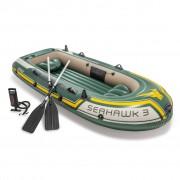 "Intex Conjunto barco insuflável Seahawk 3"" 295x137x43 cm 68380NP"