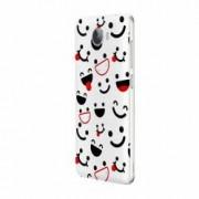 Husa Silicon Transparent Slim Emotion HTC U11 Lite