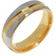 Silvego Snubní ocelový prsten pro muže a ženy MARIAGE RRC2050-M 52 mm
