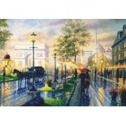 Fototapeta maľba FTXXL 0366 Paříž, papierová , 360x255 cm - 4 dielna