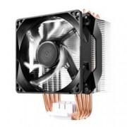 Охлаждане за процесор CoolerMaster Hyper H411R, съвместимост с LGA 2066/2011-3/2011/1151/1150/1155/1156/1366/775 & AMD AM4/AM3(+)/AM2(+)/FM2(+)/FM1