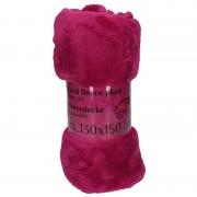 Geen Paarse fleece deken 130 x 150 cm - Action products