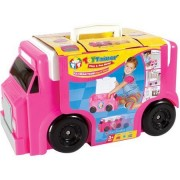 Toytainer Ice Cream Trunk Play-N-Store   Free-Wheeling and Ready To Go