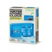 4M Spel Water Powered Clock voor kids - Blauw
