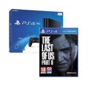 Igraća konzola PlayStation 4 Pro 1TB G chassis Black + PS4 Dualshock Controller Black + The Last of Us 2