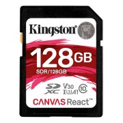 Kingston SDXC Canvas React 100R/70W UHS-I, 128GB