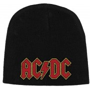 AC/DC Logo Knitted Ski Hat