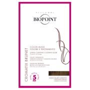 Biopoint Colorazione Biopoint Cromatix Brunet Color Mask Cioccolato Dorato monodose 30 ml trattamento colorante per capelli castani e castani scuri