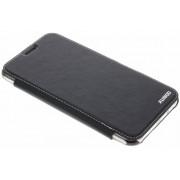 Zwarte crystal slim book case voor de Samsung Galaxy J7