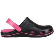 Papuci femei coqui bodee negru/roz