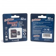 Devicewear 32 GB Micro SDHC Class 10 Memory Card With Adapter (MSD-C10-32)