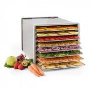 Klarstein Fruit Jerky Pro 8 torkningsautomat dehydrator 630W 8 nivåer rostfri