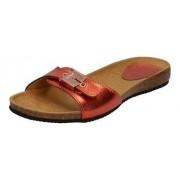 Scholl Bahamais papucs - piros