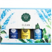 Woolzies Clean Essential Oil Set Of 3 Cleaning Blend Lemon and Tea Tree 10 ML each