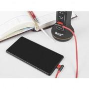 Accesoriu pentru imprimanta natec Extreme Media microUSB - USB 2.0 (M) 1m, in unghi, rosu