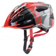 Uvex Quatro Junior - casco bici - bambino - Red/Grey