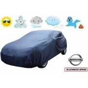 Autohoes Blauw Polyester Nissan Pulsar 2014-
