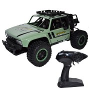 Masina de jucarie, Jeep Safari 4x4 cu telecomanda si suspensii, Scara 1:14, Extreme Power