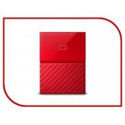 Жесткий диск Western Digital My Passport 4Tb Red WDBUAX0040BRD-EEUE