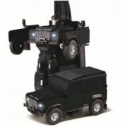 Masina Rastar Land Rover Transformer Die Cast 1 32 RTR AA baterie - Negru cu telecomanda