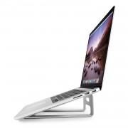 TwelveSouth ParcSlope - ергономична алуминиева повдигаща поставка за MacBook и iPad Pro (сребриста)