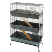 Jaula Ferplast Vital 120 de 3 pisos para roedores - 120 x 60 x 167 cm (L x An x Al)