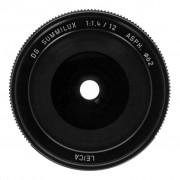 Panasonic 12mm 1:1.4 Leica DG Summilux ASPH (H-X012E) negro - Reacondicionado: como nuevo 30 meses de garantía Envío gratuito