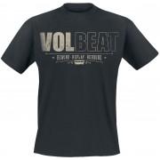 Volbeat Distressed Logo Herren-T-Shirt - Offizielles Merchandise S, M, L, XL, XXL Herren