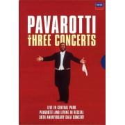 Luciano Pavarotti - The Three Concerts (0044007432211) (3 DVD)