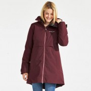 Didriksons Helle, wine red parka (Stl: 34, 36, 38, 40, 42, 44, 46, )