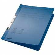 Dosar incopciat 1/1 Leitz, carton, albastru