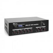 Power Dynamics PBA120, 100 V zesilovač, 120 W, USB/SD, MP3, bluetooth