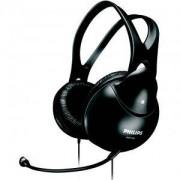 Слушалки Philips с микрофон за PC, Черен - SHM1900