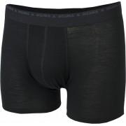 Aclima M's Lightwool Shorts JetBlack M 2019 Underkläder för cykling
