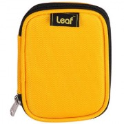 Leaf Hard Disk Pouch Yellow 2.0