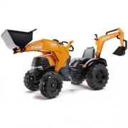 Tractor Case IH 580 Super N cu Excavator si Cupa