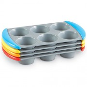 Learning Resources Sorting Muffin Pans, Set of 4